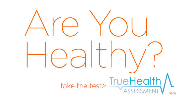take your true health assessment